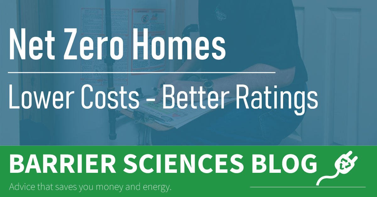 Net Zero Homes Low Operational Costs and a Strong EnerGuide Rating