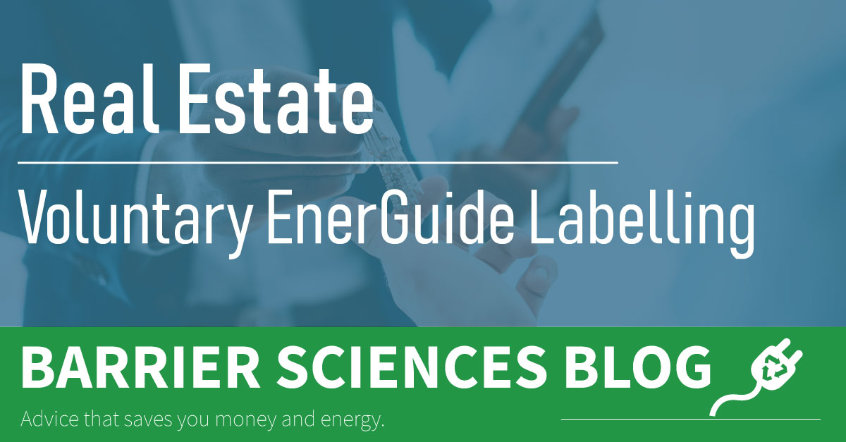 Voluntary EnerGuide Labelling
