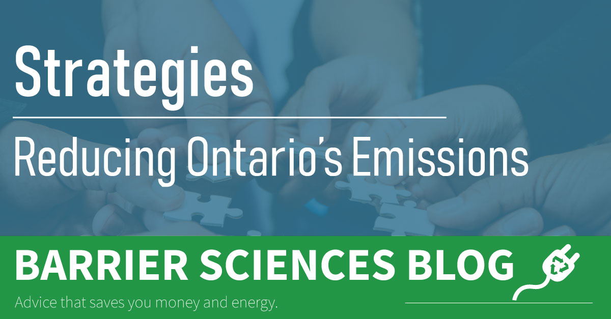 Strategies to Continue Reducing Ontario's Emissions