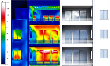 thermal imaging energy deficiencies